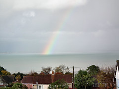 Rainbow (Claire @ iloveryde.com) Tags: winter rain weather clouds rainbows thecloudappreciationsociety iloveryde