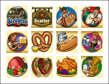 free Steinfest slot game symbols