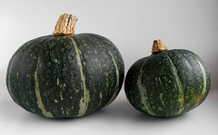 Mother and daughter Kabocha