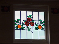 Leadlight Window, Napier