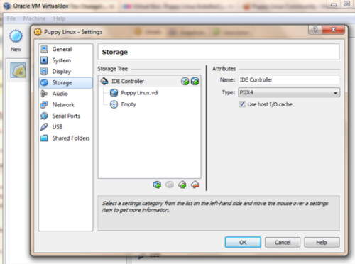 Virtual Box Setting