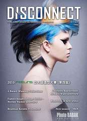 Disconnect Magazine cover (BABAK photography) Tags: light beauty hair trends cover styles awards naha bluehair haircolor bobbypins profoto hairfashion avantgardemakeup contessaawards avantgardehair babakphotographer hairfashionphotographer disconnectmagazine hairpinsinhair
