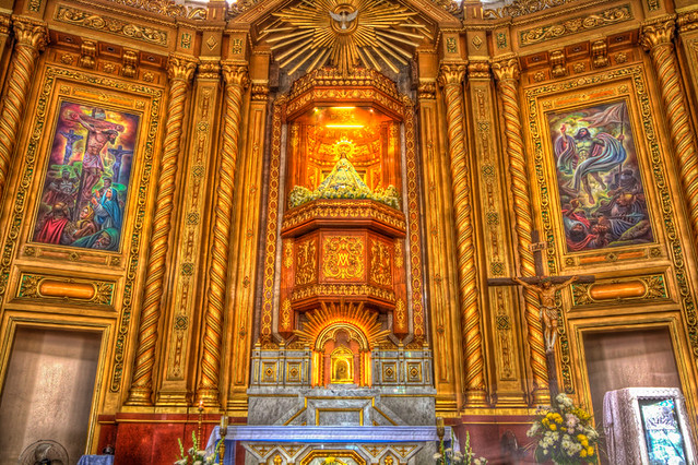 Antipolo Church Altar