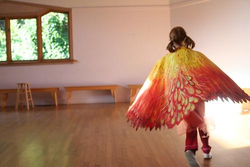The Firebird in Flight