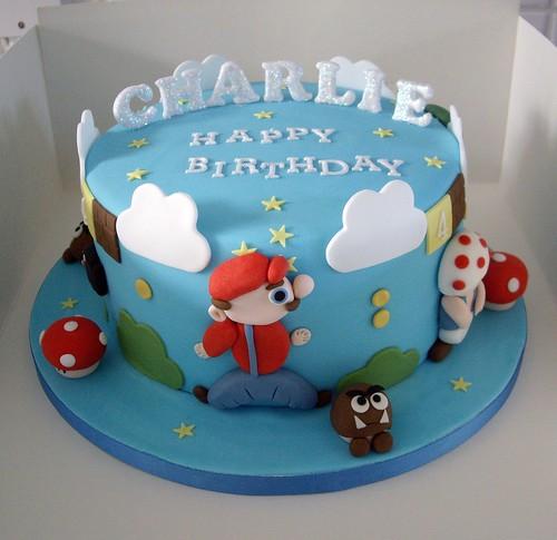 Charlie's Mario Cake