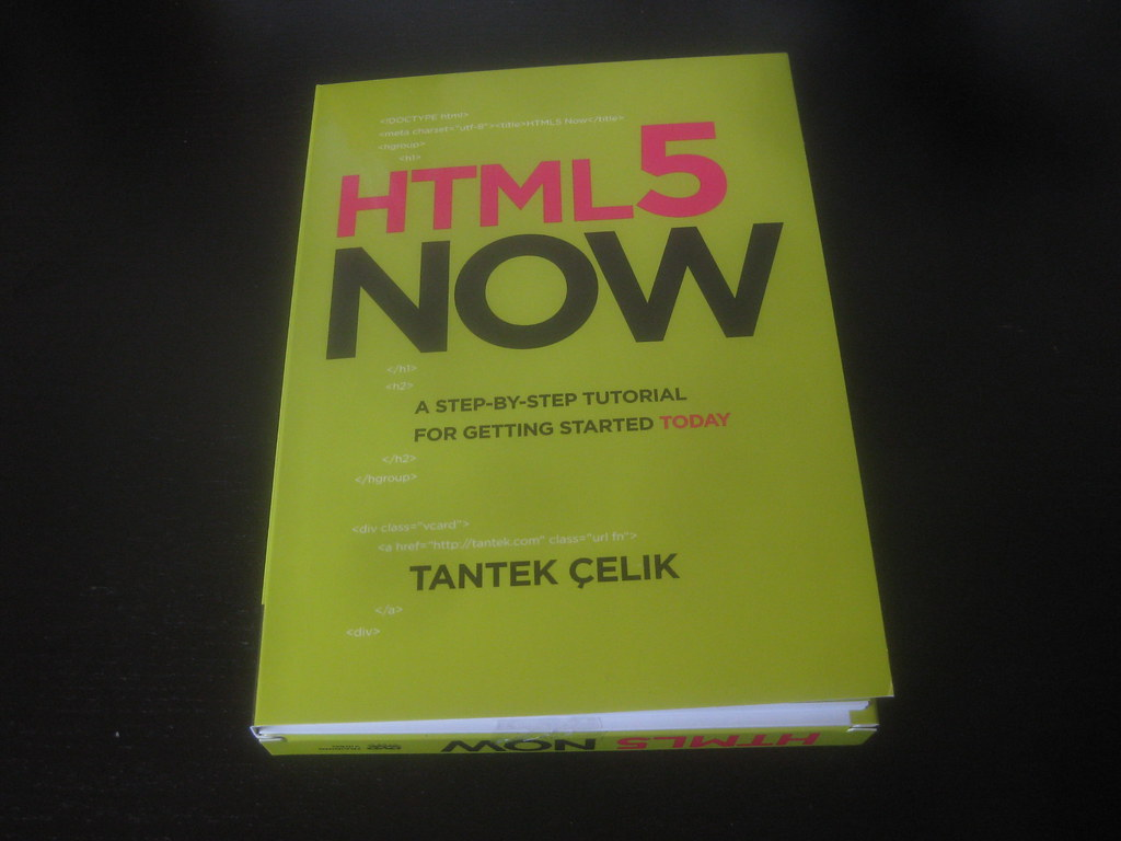HTML5 Now by Tantek Çelik