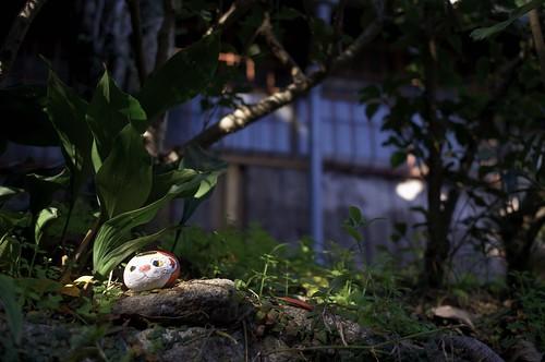 neko stone in Onomichi