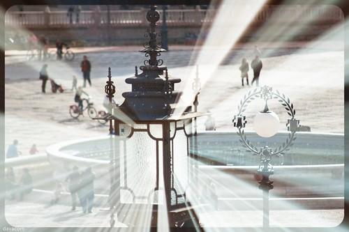 Farolas de la Plaza de España