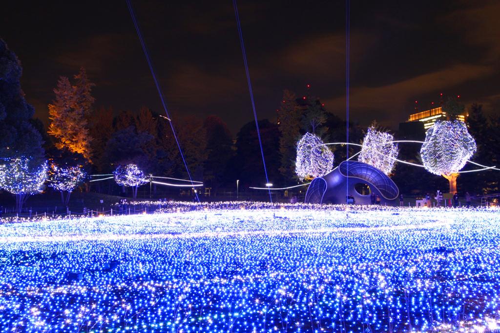Tokyo-midtown Xmas illumination 2010 (3)