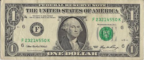 Dollar Bill (Front)