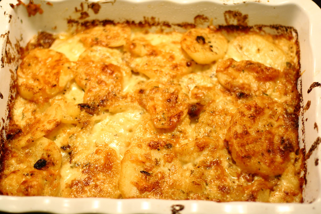 French Scalloped Potatoes