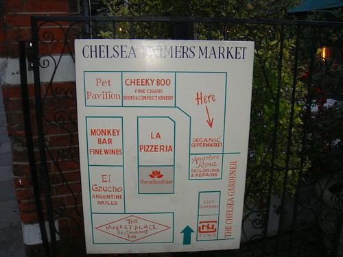 Entrada al Chelsea Farmers Market