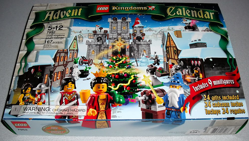 LEGO 7952 Kingdoms Advent Calendar