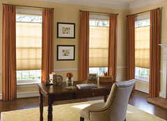 wooden blinds are best because they are made of natural materials that allow chi to circulate easily