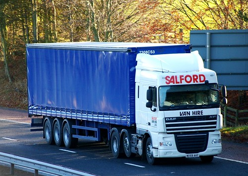 DAF XF-SALFORD VAN HIRE Manchester