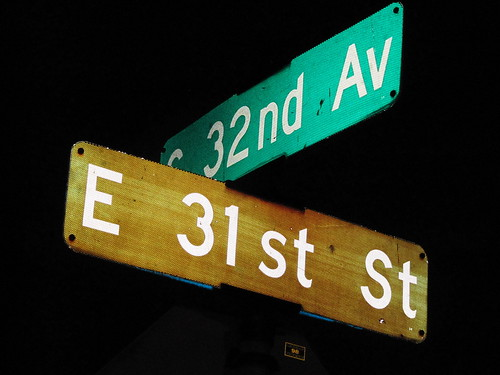 E 31st St at S 32nd Ave