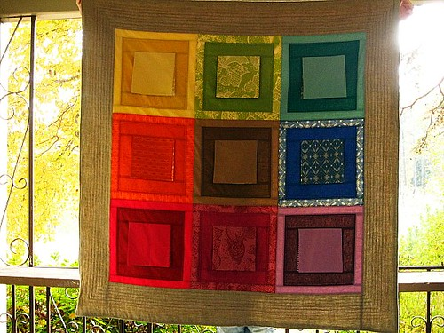 Hide & Seek Spectrum Quilt