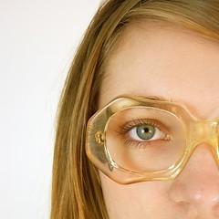 Vintage Octagonal Pierre Cardin Eyeglasses