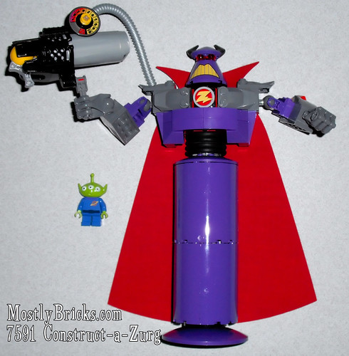 LEGO Toy Story 7591 Construct-a-Zurg Special Edition Review | Mostly Bricks