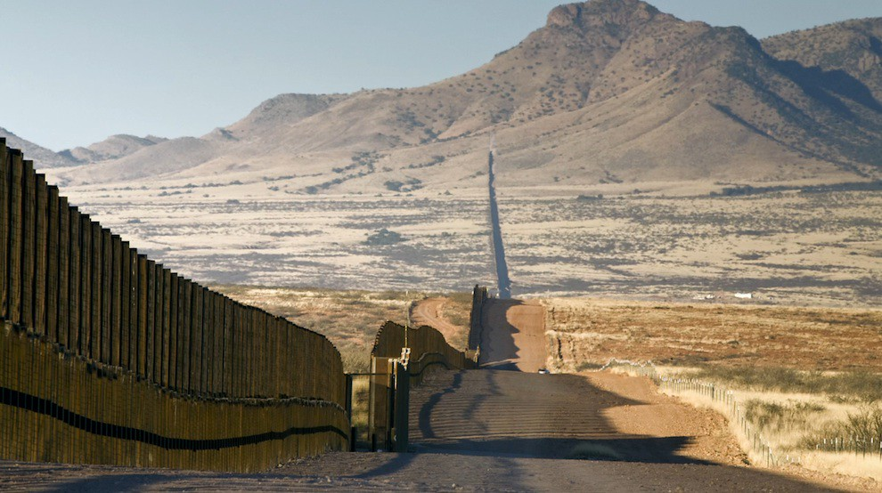 US-Mexico wall