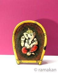 Ganesha 185 (ramakan) Tags: ganesha terracotta lord days 365 pillayar vinayagar ganapathi