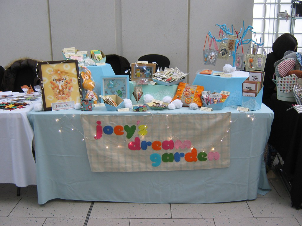 Craft Candy Christmas Fair - Joey's Dream Garden