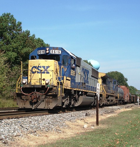 CSX F741-19 at Cary, NC