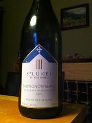 2008 St. Lukes Blind River Sauvignon Blanc