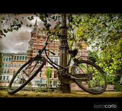 Amsterdam 2 (CARLORICCI) Tags: holland amsterdam bike nikon explore carlo fullframe fx olanda bicicletta paesibassi d700 carl