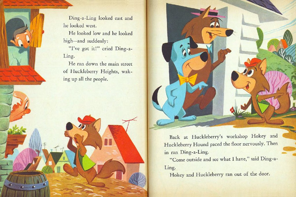 Hokey Wolf & Ding-a-Ling Featuring Huckleberry Hound010