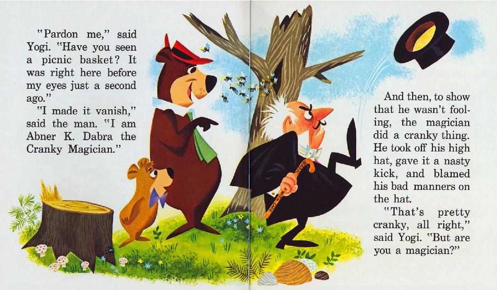 Yogi Bear & the Cranky Magician005