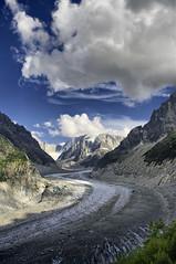 Mer De Glace (France) (G. Arias) Tags: mer france k alpes de pentax d 20 francia mont blanc hdr glace k20d