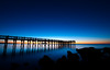 "A""pier""s to be Blue (mbaglole) Tags: park blue beach water silver pier nikon state connecticut walnut ct milford nikkor sands afs milfordct silversandsstatepark f35f45 mywinners 1024mm walnutbeachmilford nikonnikkor1024mm"