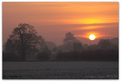 Winter sunset (zweiblumen) Tags: uk winter sunset england field landscape shropshire picnik ndfilter tamron28300mm canoneos50d zweiblumen churchaston