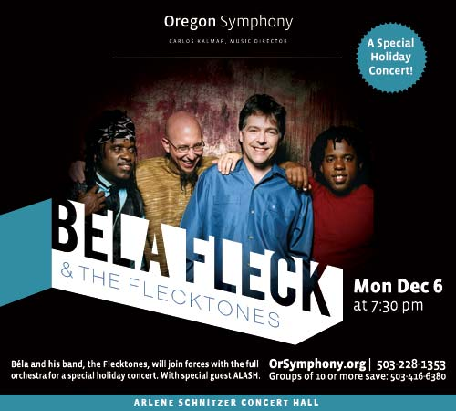 Bela Fleck & The Flecktones @ Oregon Symphony