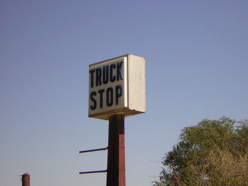 Abandoned Truck Stop: Bridgeport, Oklahoma