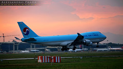 Milano Malpensa airport - Korean Air Cargo