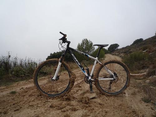 Bicicleta embarrada