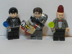 9, 10, 11 (Traveller in the fourth and fifth dimensions) Tags: lego who 10 9 11 sonic doctor fez detector ninth screwdriver tenth eleventh timeywimey fezzesarecool