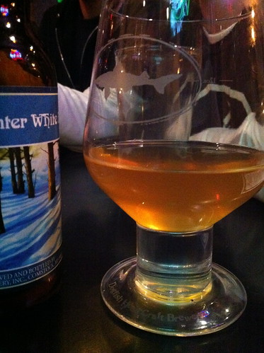 Winter white night, winter white ale