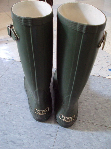 L.L. Bean Green Wellies