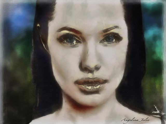 Angelina Jolie by VH562