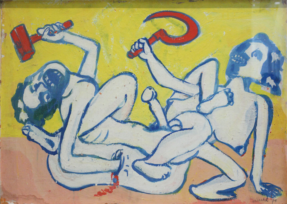 Otto Mühl, Untitled, 1971