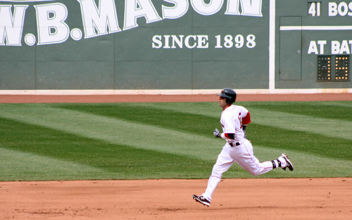 Pedey's home run trot