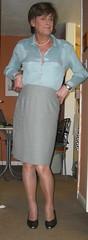 A greener shade of pale! (Adele Dubois1) Tags: tv cd tgirl tranny transvestite crossdresser crossdress