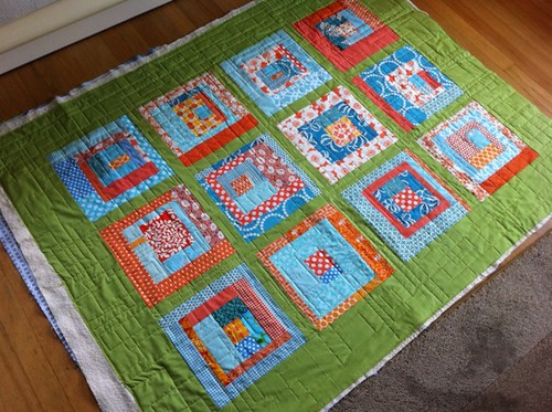 beautiful quilt by Rachel + Cherri