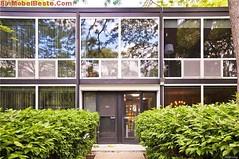 1950er Jahren der moderne: Mies van der Rohe entworfene Haus in Detroit, Michigan, USA (Ein Mobel Beste) Tags: 1950er dekorationdetrpit dekorationhaus detroit entworfene haus immobilie jahren michigan mies moderne rohe