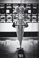 X men (Dalibor Papcun) Tags: reflexion prague underground metro