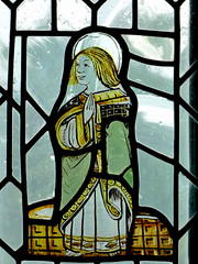 St. John (The Disciple whom Jesus Loved) (HJ in Ches) Tags: bramhall bramhallpark chapel stainedglass crucifixion window bramallhall