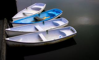 Four Dinghies